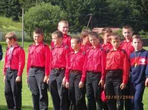 Zawody sportowo- pożarnicze 12.07.2009