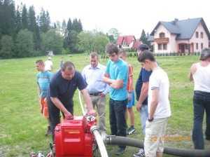Ćwiczenia i zapoznawanie ze sprzętem 22.05.2011