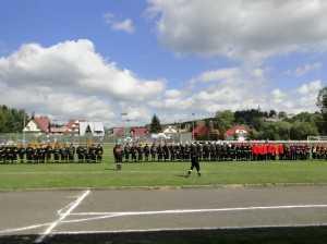 Zawody sportowo-pożarnicze Jabłonka 09.09.2012
